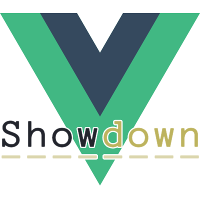 Vue Showdown logo